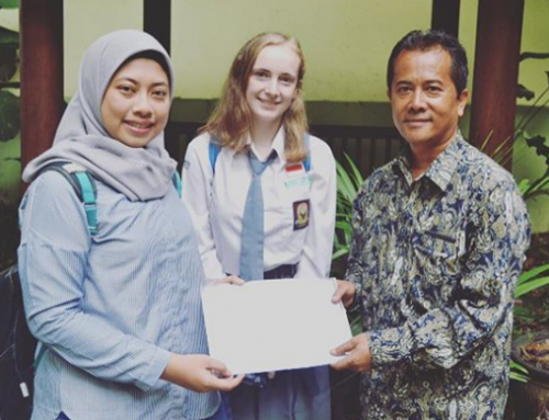 Perpisahan Pelajar Program YES (Youth Exchange Study) dari Amerika